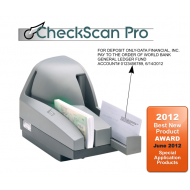  CheckScan Pro Check Endorsing System with Digital Check TS240 with 4 Line Endorsing Feature (50 Doc Per Min)